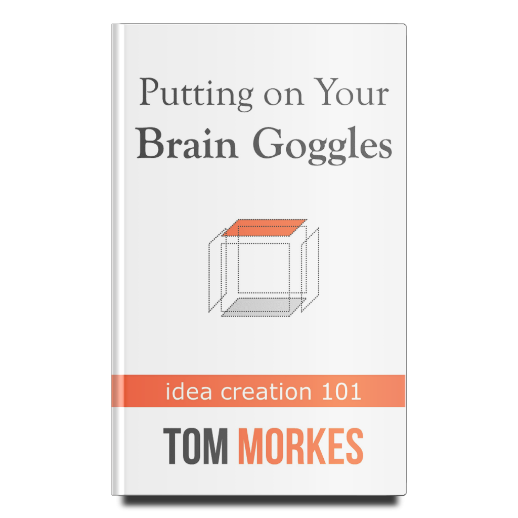 Putting on Your Brain Goggles by Tom Morkes