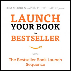 bestseller book launch day 3