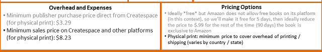 Canvas - pricing expenses