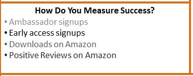 Canvas - success metrics