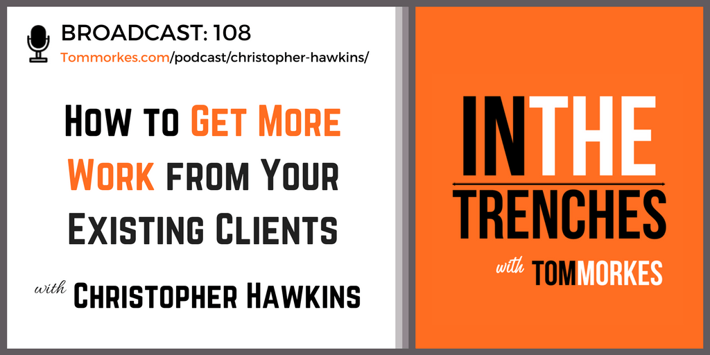 Christopher Hawkins In The Trenches Podcast Tom Morkes