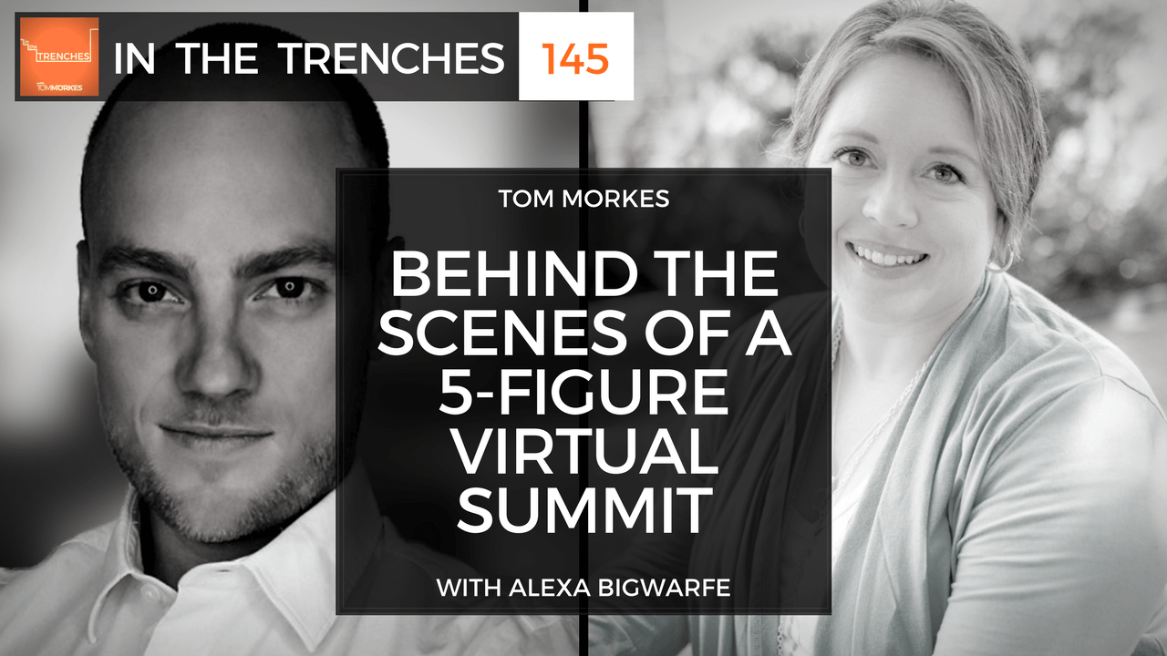 alexa bigwarfe on in the trenches with tom morkes